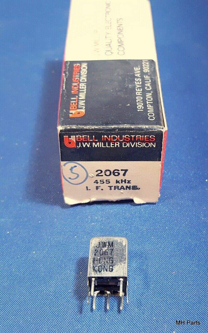 Acom 2100 Amplifier: 1 PCS Vintage J. W. Miller # 2067 Coil